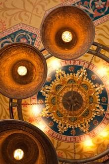 gilbert scott ceiling
